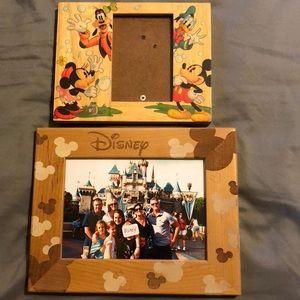 Wood Disney Frames